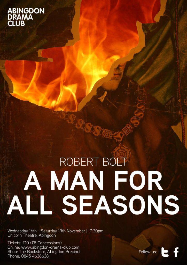 A Man For All Seasons, November 2016