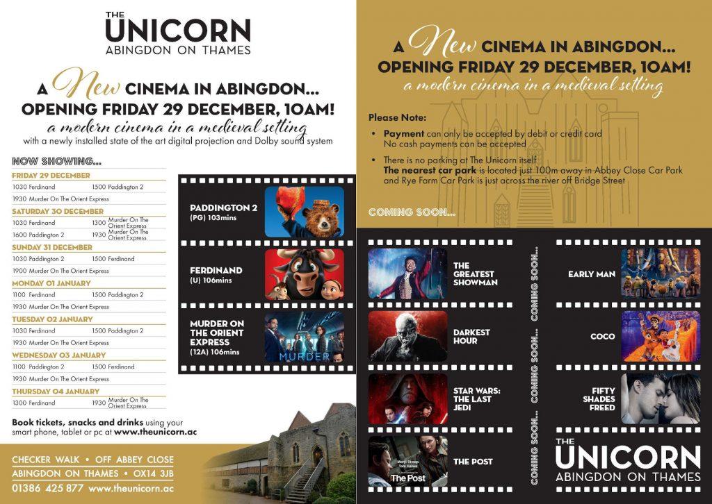 Unicorn Cinema launch