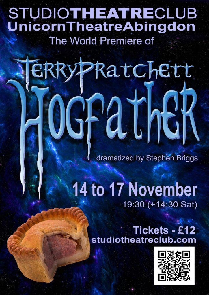 Hogfather, Studio Theatre Club, Unicorn Theatre, November 2018