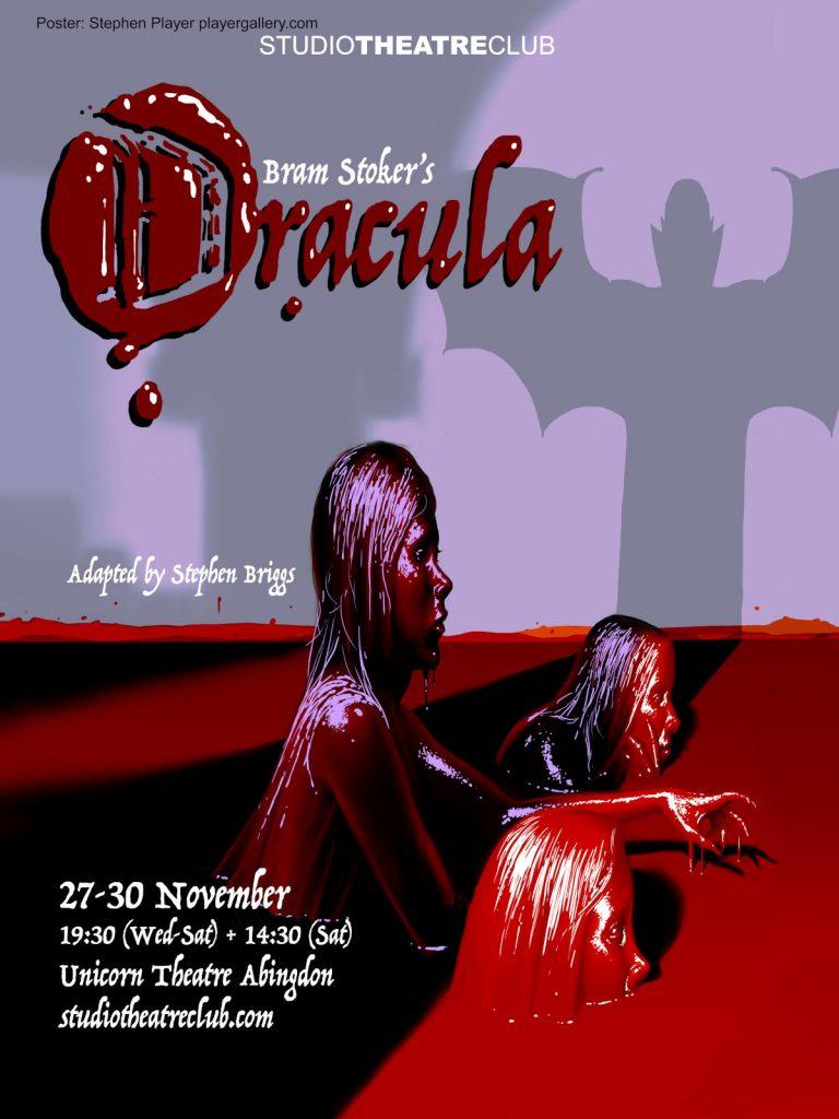 Dracula, Studio Theatre Club, Unicorn Theatre, November 2019