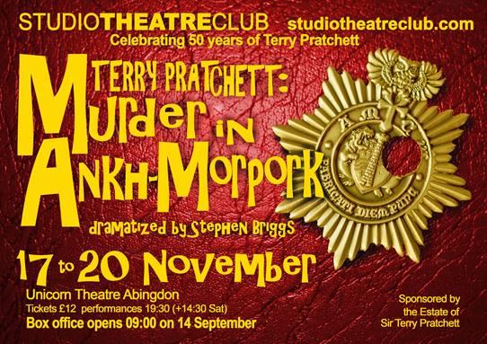 Murder in Ankh-Morpork, this November!