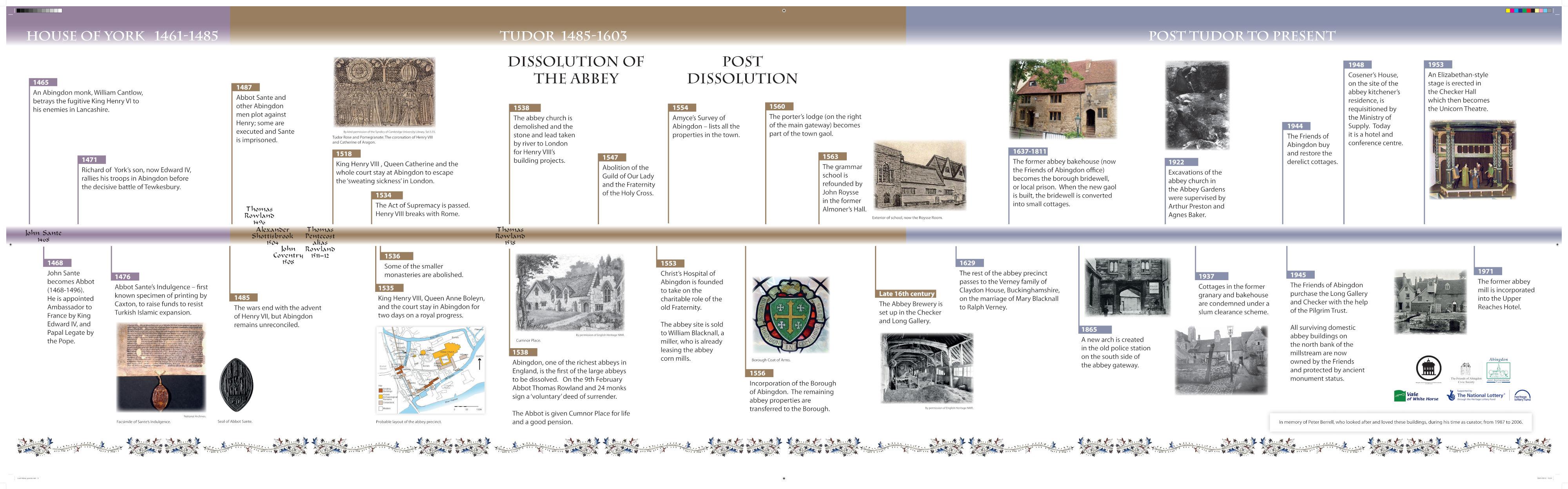 Abingdon Abbey Timeline 3