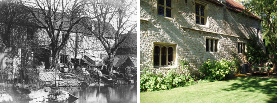 Before and after - Millstream Frontage