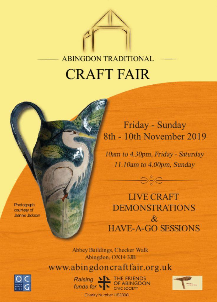 Abingdon Craft Fair, November 2019