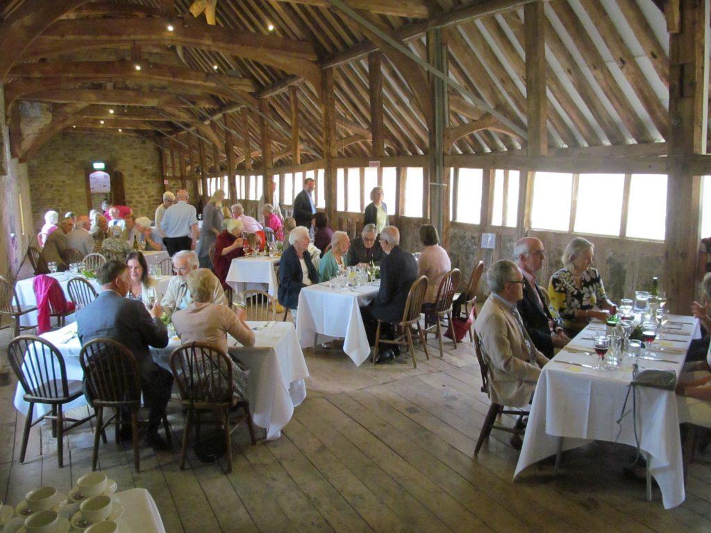 Friends of Abingdon member lunch, 2011