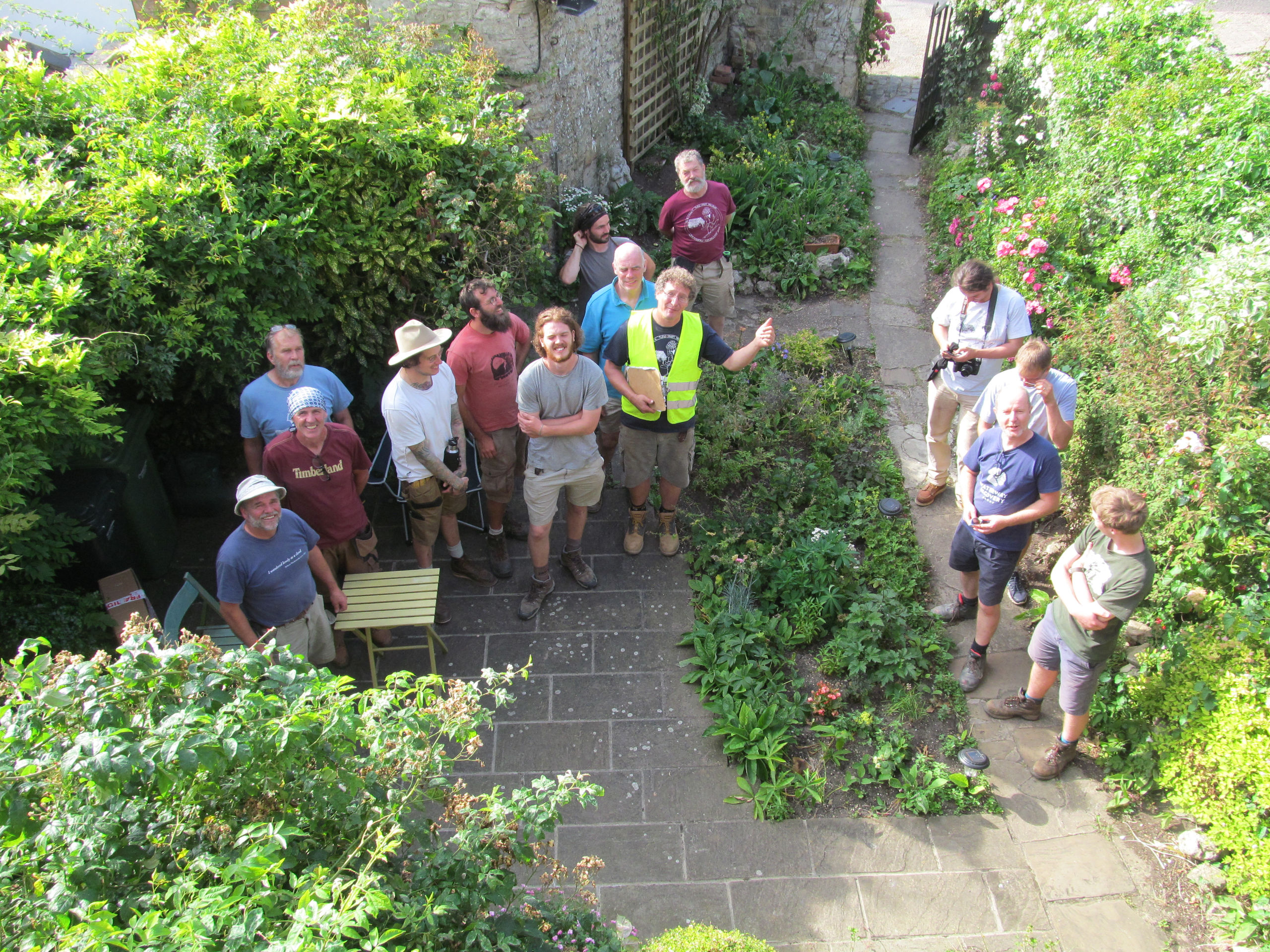 Community outreach in the gardens