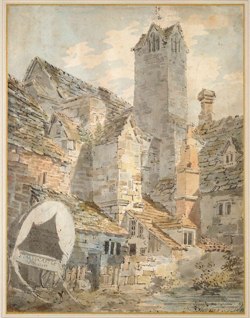 JMW Turner watercolour of the Checker