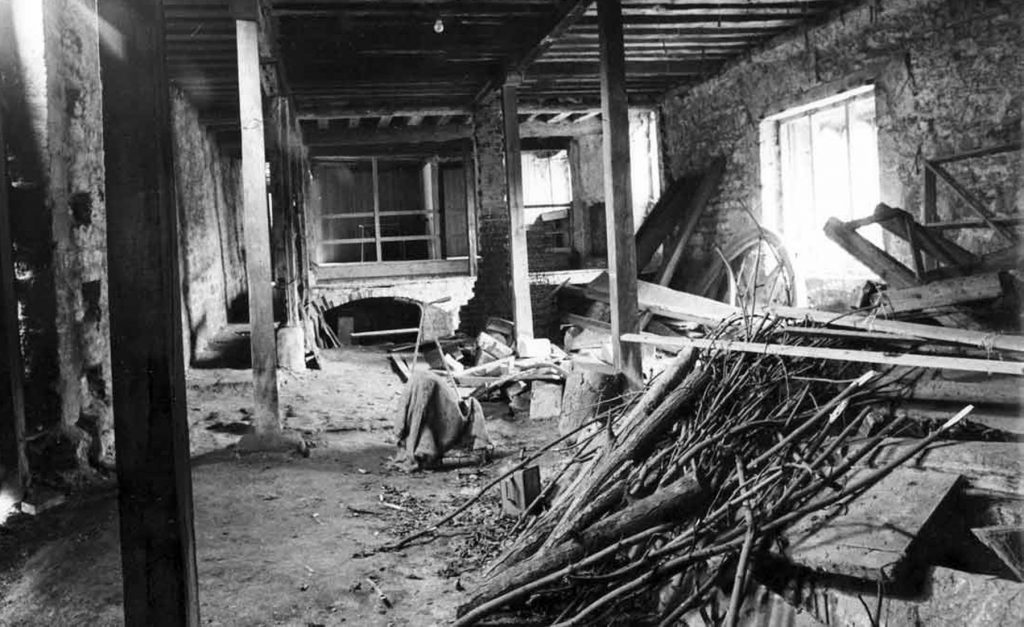 Lower Hall pre-restoration