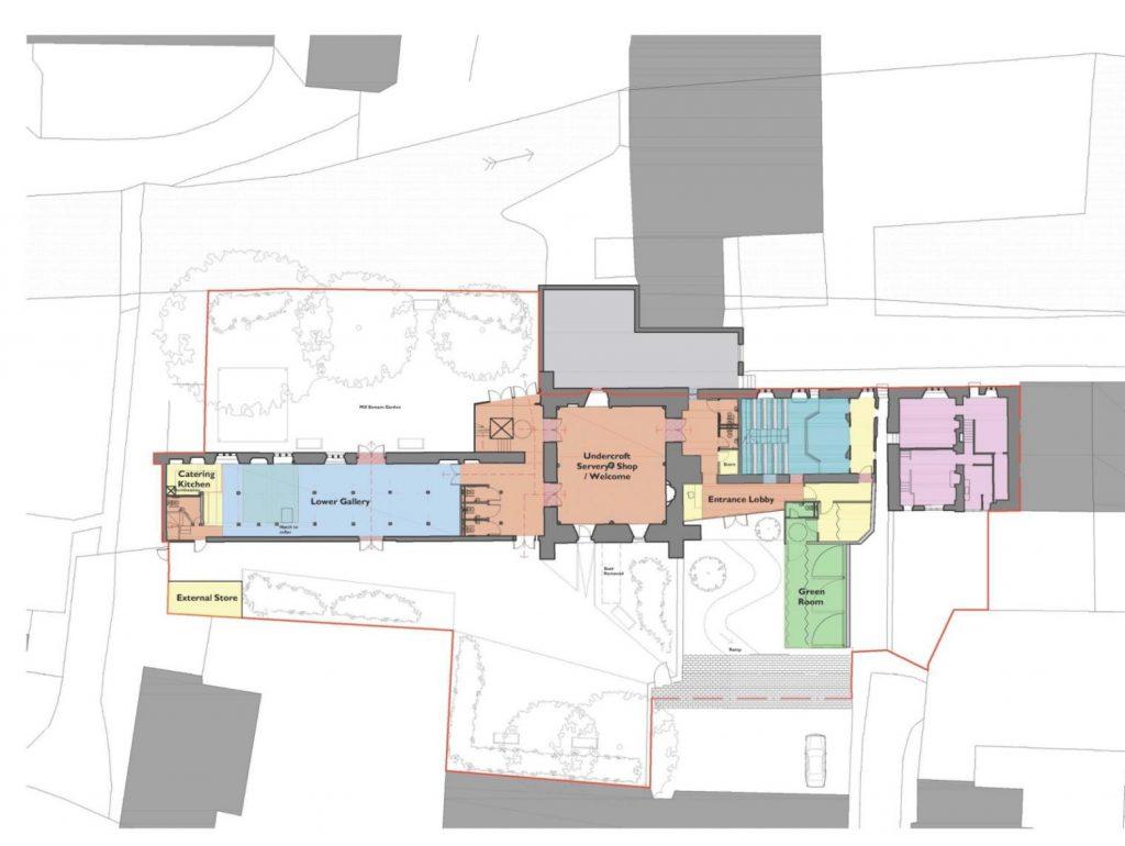 Preferred Option Proposed Ground Floor