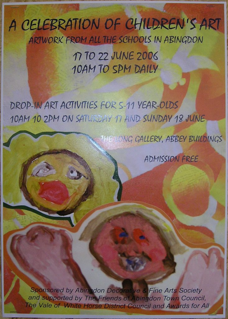 Schools Art Exhibition, 2006