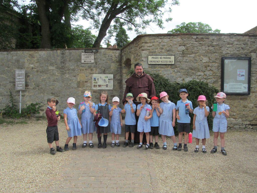 St Blaise school visit