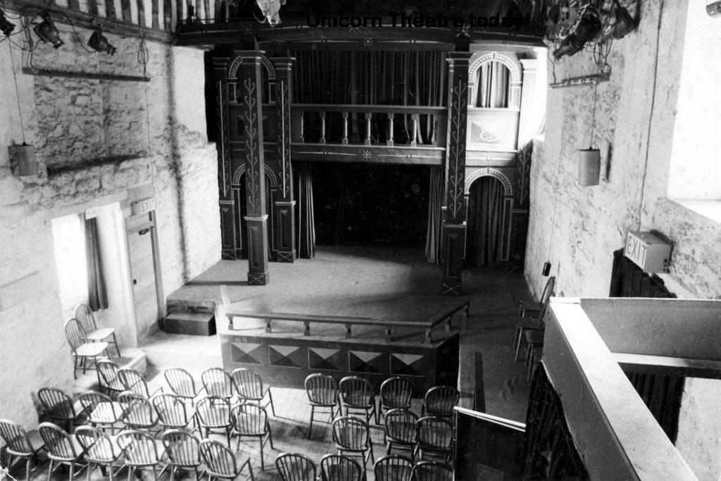 Unicorn Theatre interior